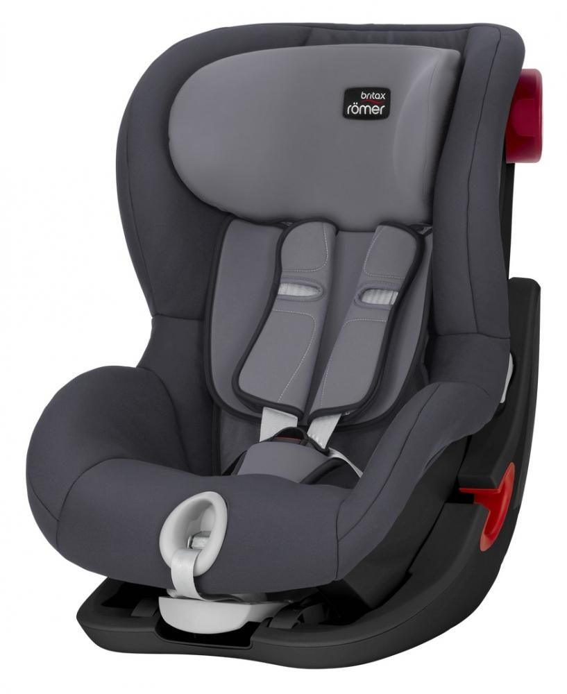 Автокресло Britax Römer King II Black Series Storm Grey Trendline в Актау